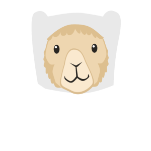Süßes Lama Shirt - Ready for Adventure!