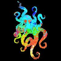 Octopus Kraken Tintenfisch Meer Ozean