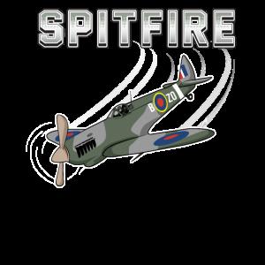 SPITFIRE Jagdflieger Modellbau Geschenk Aviation