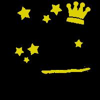 Geburtstagskind T Shirt Glitzer Krone Prinzessin