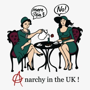 More Tee? No! - Anarchy in the UK!