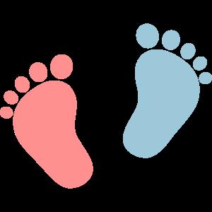 Baby Füße, Herz, Fuß, Taufe , Geschenk, Mama