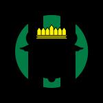 UFC Logo schwarz gelb grün