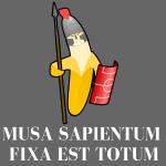 Musa sapientum fixa est Totum - Alles Banane
