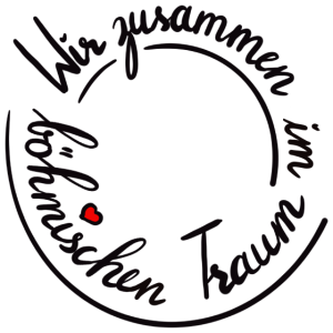 Blasmusik Böhmische Traum Polka Musiker Handletter