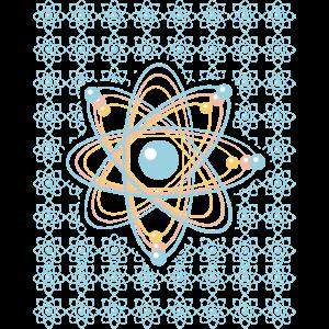 Atome Physik Science Nerd Geschenk