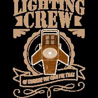 Lichttechniker Crew Licht Event Geschenk