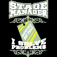 Stage Manager Stagecrew Crew Event Geschenk
