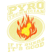 Pyro Techniker Stagecrew Event Geschenk