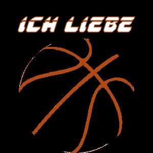 ich liebe Basketball