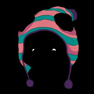 Panda mit Mütze