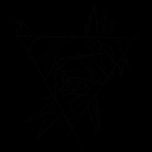 Dreieck Rose abstrakt