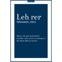Teachly - Definition Lehrer - Meth kochen