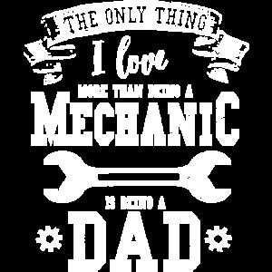 Fahrzeug Mechaniker Maschinenbau Ingenieur Papa