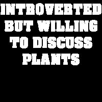Introvertierter Gärtner