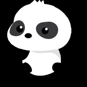 Süßes Panda-Baby