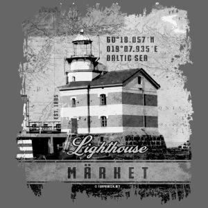 Märket majakkatuotteet, Finland Lighthouse, Harmaa