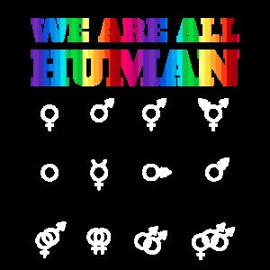LGBT LGBTQ Geschenk Equality Rechte Geschlechter