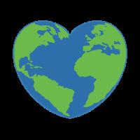 Tag der Erde Herz
