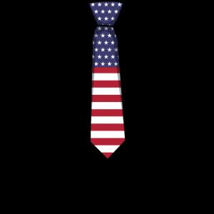 Krawatte Amerika Patriotisch Patriotismus 4. Juli