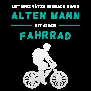 Fahrrad - Alten Mann