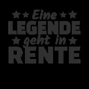 Eine Legende geht in Rente 2019 Rentner Ruhestand