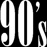 90er Neunziger Jahr