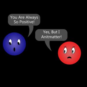 I Antimatter Electron Positron Geschenkidee lustig