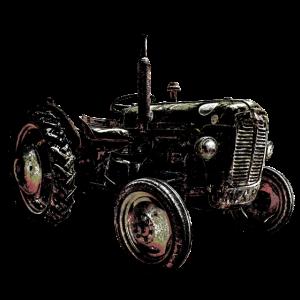 Alter Traktor Vintage Good old times Retro Rarität