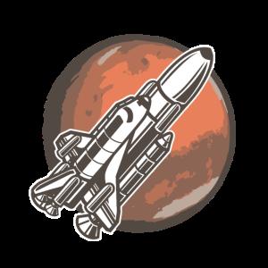 K34 Mars space shuttleZeichenflaeche 1