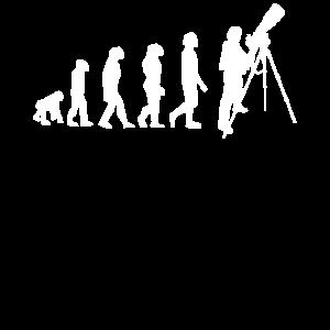 Astronomie Entwicklung