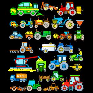 Traktor Trecker Landmaschinen Bauernhof