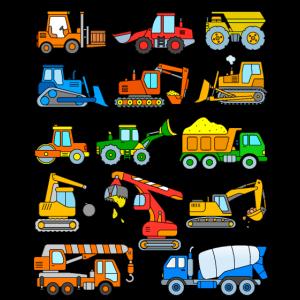 Bagger Fahrzeuge Baustelle