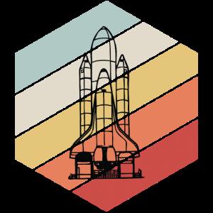 Vintage Space Shuttle - Weltraum, Astronaut