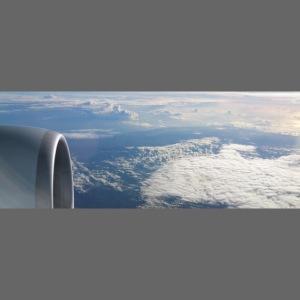 Flugzeug Himmel Wolken Australien