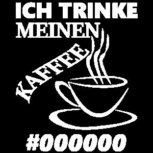 Ich trinke meinen Kaffee schwarz Html Code