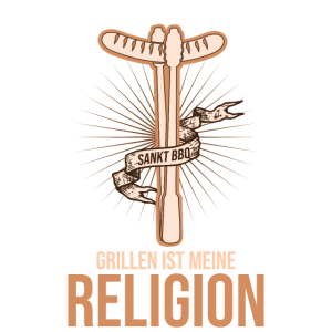 Grillen ist meine Religion BBQ Geschenk