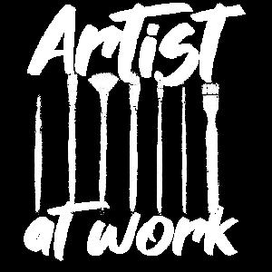 Künstler Arbeit