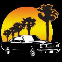 Mustang 1965 Fastback _sunset