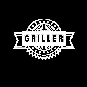 Griller Grillkönig Grillmeister Sommer Geschenk