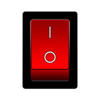 on off switch, an aus schalter