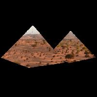 Pyramiden in der Wueste cooles Geschenk