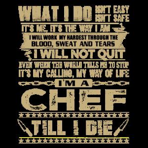 Chefkoch - Küchenchef - Boss - Essen