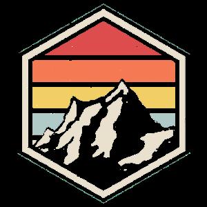 Retro Badge Wanderer