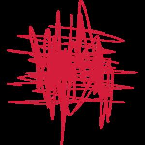 RED RED RED muster form linien kunstwerk striche