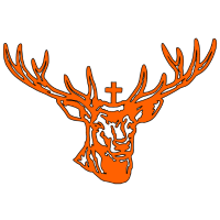 Hirschkopf orange