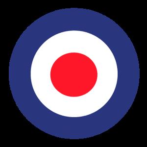 Britisch Target Bullseye Zielscheibe Schießen