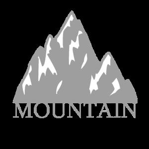 Graue Felsen in den Rocky Mountains