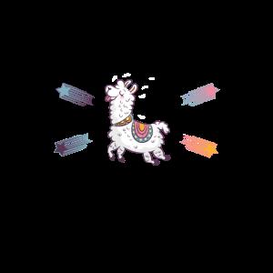 Alpaka-Shirt • Das Leben ist schön • Alpaka-Geschenk