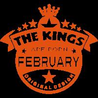 Februar Könige geboren Geburtsmonat